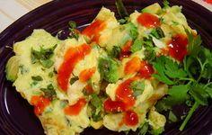 Eggs with Avocado and Cotija - RecipeZazz