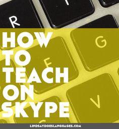 12 Top Tips: How to Teach on Skype