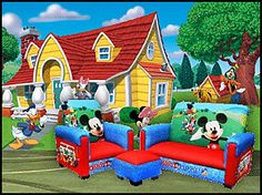 Minnie Mouse Theme Room | Mouse themed bedroom decorating ideas - Mickey Mouse Minnie Mouse ...
