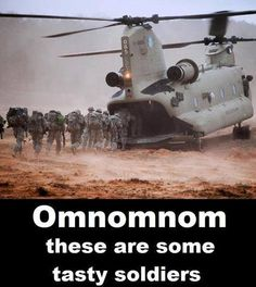 Funny pictures about That's a hungry helicopter. Oh, and cool pics about That's a hungry helicopter. Also, That's a hungry helicopter. Memes Humor, Jokes, Humor Militar, Things With Faces, My Champion, Hidden Face, Military Humor, Army Humor, Police Humor