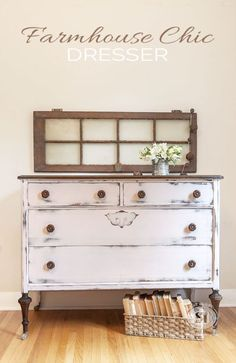 Farmhouse Chic Dresser