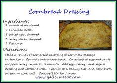 Cornbread Stuffing!