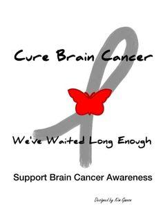 Brain cancer awareness                                                                                                                                                                                 More