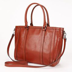 PAVA Convertible Leather Tote