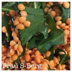 Frau S-Berg: Rucola-Linsen-Salat