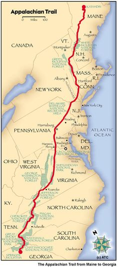 Map of Appalachian Trail . Map of Appalachian Trail . Camping And Hiking, Thru Hiking, Outdoor Camping, Hiking Trails, Backpacking Tips, Outdoor Travel, Ultralight Backpacking, Hiking Gear, Camping Gear