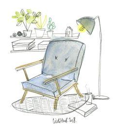 fauteuil, Cécile Hudrisier