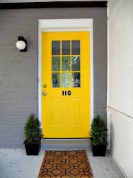 pics of yellow front doors - Google Search