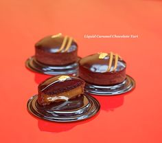 Liquid Caramel Chocolate Tart by DOMINIQUE ANSEL BAKERY