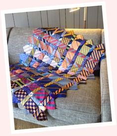 Purse Strings Patterns - Memories Tie Quilt