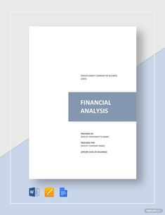 FREE Financial Analysis Samples in Excel Financial Statement Analysis, Financial Analysis, Make Business, Business Logo, Company Financials, Risk Analysis, Word Doc, Letter Size, Flyer Template