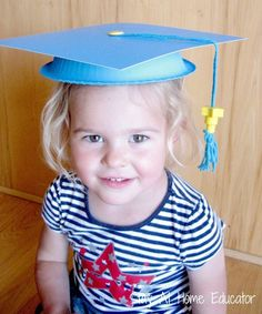 I had a little trouble finding child sized graduation caps at an affordable price that were also high quality and got good reviews, so I opted to spend a few hours making my own caps to give to my preschoolers. My students were delighted to see their caps, and combined with some T-shirts we had … … Continue reading →