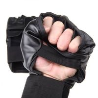 Boxing / Muaythai Pu Leather Gloves Murah