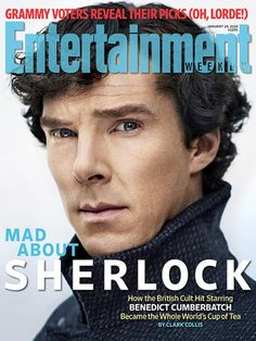 Benedict Cumberbatch | For more exclusives from the set of Sherlock , pick up this week's EW mag on newsstands or buy it here .