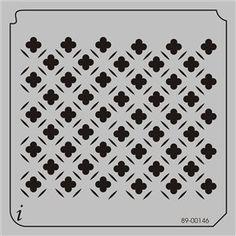 89-00146 - All Over Repeats Stencils - Wallpaper Stencils - Stencil Pattern