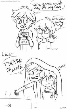 Omg, Adrien has Beyond the Boundary, he is an anime fan!!! XD