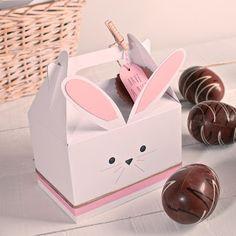 Caja para picnic decorada para Pascua