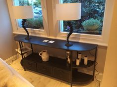 Console table - metal