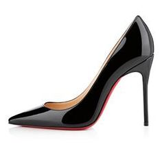 All You Need is Love And Christian Louboutin Decollete 554 100mm Pumps Black DYR!