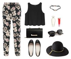 """""""Untitled #496"""" by patrisha175 ❤ liked on Polyvore featuring Elizabeth and James, Monki, FOSSIL, Valentino, Victoria's Secret, Barry M, Lanvin, women's clothing, women and female"""