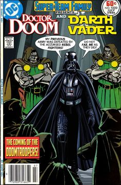 Super-Team Family: The Lost Issues!: Doctor Doom and Darth Vader