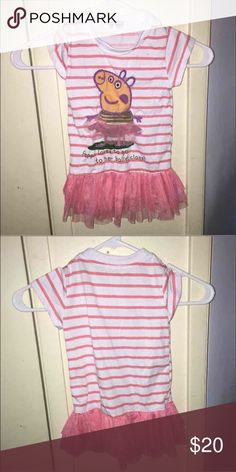 Girls Stripped Dress Size:4T Girls stripped dress size: 4T in good condition. Shirts & Tops