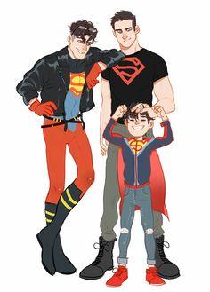 drawing dc comics OGSB, YJSB and Rebirth SB>>>anime x games x comics [dcu Marvel Dc Comics, Math Comics, Old Comics, Dc Comics Art, Superboy Young Justice, Univers Dc, Superman Family, Mundo Comic, Dc Comics Characters