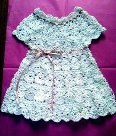 Foto del tejido a crochet de Marlene, Venezuela.