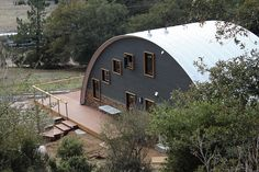 Another beautifully completed quonset cabin, thanks to Vern Sneed with Design Horizons