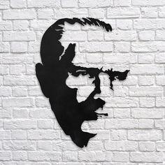 Kdv Dahil 124.5 TL Mustafa Kemal Atatürk - Metal Poster Metal lazer kesim ile yapılmıştır 50cm x 70cm boyut Siyah renk boya 1.5 mm metal plaka Daha Fazlası İçin Sitemizi Ziyaret Edebilirsiniz http://www.modaturkey.com/Mustafa-Kemal-Ataturk-Metal-Poster,PR-17.html #modaturkey #modaturkiye #ataturk #poster