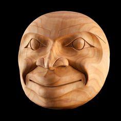 Moon Mask  Tom Eneas  Coast Salish (Squamish Nation)