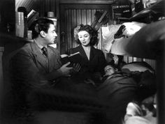 Walter Pidgeon and Greer Garson - Mrs. Miniver...Great movie... Greer Garson...wow... she knew how to act...