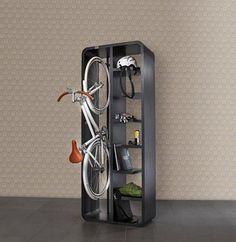 Bike rack book case. Want want want!