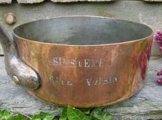 Vintage French copper