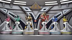 The Power Rangers are in for the fight of their lives when Master Xandred returns to Earth to face the team in an epic Bullzooka battle. Power Ragers, Samurai Costume, Tommy Oliver, Power Rangers Samurai, Rangers Team, Green Ranger, Home Entertainment, Boy Room, Brittany