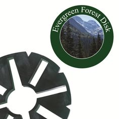 Large Evergreen Forest Fragrance Disk for LED Holiday Wax-less Warmer Over 70 hours of fragrance by For Every Home and Style.