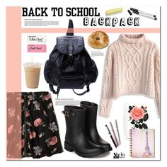 """""""Back to School: New Backpack"""" by asteroid467 ❤ liked on Polyvore"""