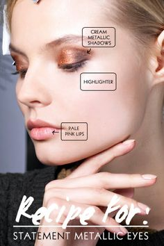 metallic makeup