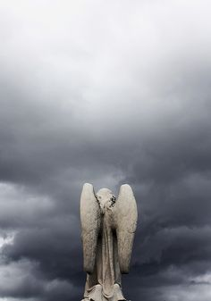 ☫ Angelic ☫ winged cemetery angels and zen statuary - Cemetery Angels, Cemetery Art, Angels Among Us, Angels And Demons, Angel Sculpture, I Believe In Angels, Ange Demon, Angel Statues, Mystique
