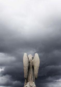 ☫ Angelic ☫ winged cemetery angels and zen statuary - Cemetery Angels, Cemetery Art, Angels Among Us, Angels And Demons, I Believe In Angels, Ange Demon, Angels In Heaven, Angel Statues, Mystique