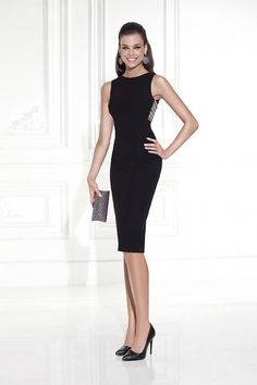 308be273711bc This Tarik Ediz 90445 creation is the perfect option for anyone who wants a  little black dress! Its high