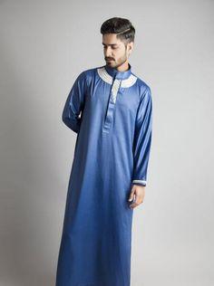 Men's Clothing Mens Thobe Jubba Designer Chenille Mens
