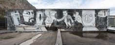 Street Mural, Mural Art, Palermo, Mount Rushmore, Graffiti, Wordpress, Tumblr, Mountains, Travel