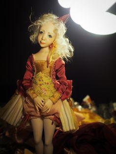 Handmade OOAK Doll.