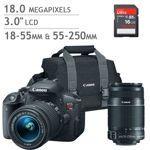 Canon EOS Rebel T5i DSLR Camera 2 Lens Bundle. Costco 1149.99-->899.99