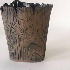 wood grain pottery