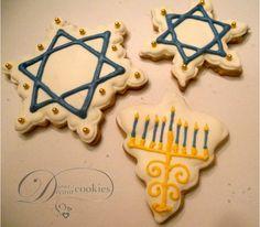 Hanukkah Sugar Cookies | Flickr - Photo Sharing!