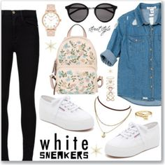 Bright White Sneakers