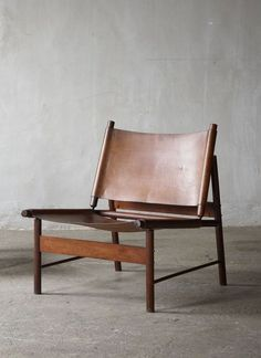 jorge zalszupin rosewood and leather lounge chair (1955)