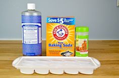 Making your own toilet bombs only takes 3 household ingredients and is an easy way to keep your toilets clean and fresh in between deep cleanings.